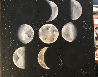 Moon phases 11x14