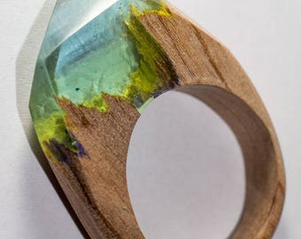 Resin wood ring 012