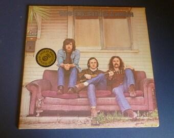 Crosby, Stills & Nash Vinyl Record LP SD-8229 Atlantic Records 1969
