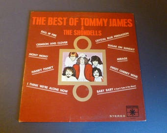 The Best Of Tommy James & The Shondells Vinyl Record LP SR42040 Roulette Records 1970