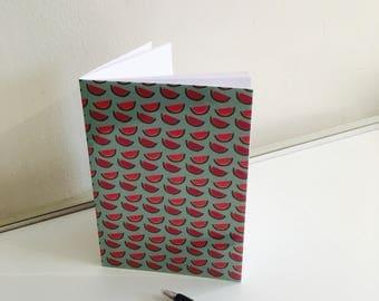 Watermelon A6 notebook,summer notebook