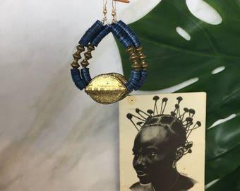 Alayo tribal earrings  African Wedding Ethnic Jewelry Tribal Jewelry  Bohohemian - Bespoke Jewelry  African Jewelry  African Earrings Tribal