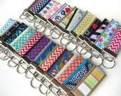 20 KEY FOBS Bulk Gift Idea - Teacher Gift Idea - Keychain Holder - Womens Key Fob - Womens Gift for Her - Employee Gift Under 10