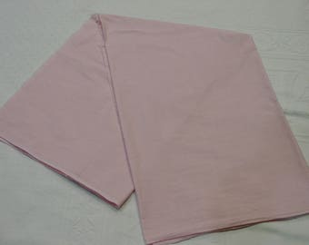 "Vintage Cotton Fabric Solid Pink, 35"" Wide 1 Yard 11"" Quilting, Crafts"