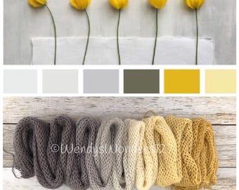 Gradient Yarn, Hand Dyed Yarn, Yarn, Fingering Weight Yarn, Golden Haze