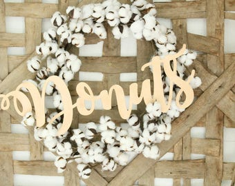 Donuts Wall Sign