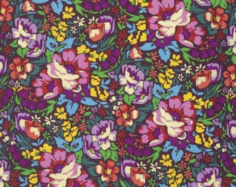 ON SALE***PREORDER Floral Retrospective Anna Maria Horner Burgandy Over Achiever