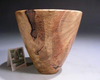 White Oak Burl G+ (11972) Hand Turned Wood Bowl -- Ring Coin Candy Keys Dish