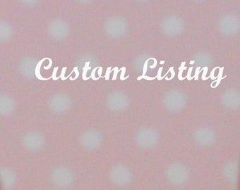 Custom listing for Anne Marie Kofta