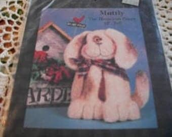 Muttly The Homeless Puppy Stuffed Dog Pattern
