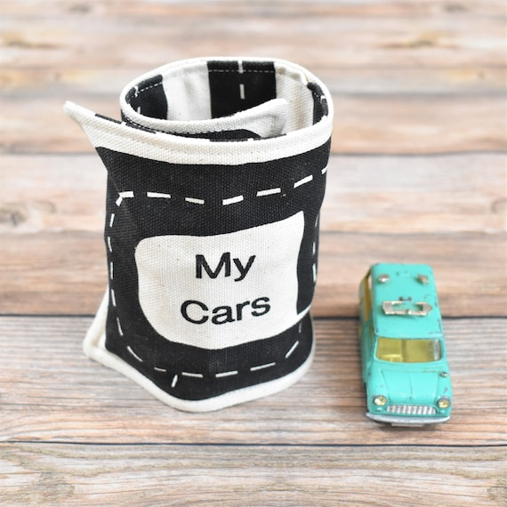 organic toy car roll small cars toy car storage kids gifts stocking stuffer kids toys gifts for boys travel toys gifts under 25