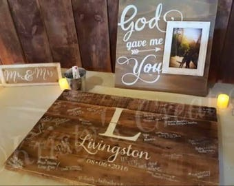 "Custom ""Guestbook"" for Bri L."
