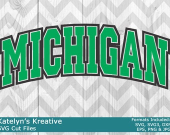 Michigan Arched SVG Files