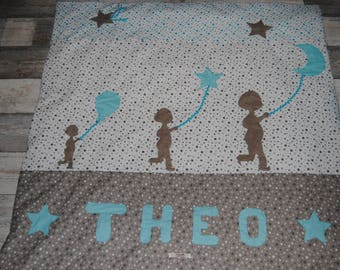 Baby themed small play mat boy ball for Theo on order