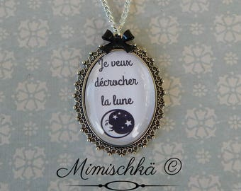 Necklace I want the Moon