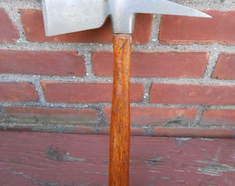 Vintage Evensville Tool Works Firefighters Hand Axe