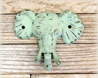 Elephant Hook, Nursery, Shabby Chic, Rustic Wall Decor, Rustic Home Decor, Wall hook, Towel Hook, Nursery Decor, Elephant Nursery