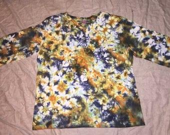 5580 Womens XL L.A.T. V-Neck 3/4 Sleeve 100% Cotton V Neck
