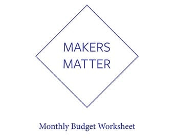 Math Worksheets To Print For 3rd Grade Budget Worksheet  Etsy 8th Grade Language Arts Worksheets with Fun Math Worksheets For 5th Grade Word Monthly Budget Worksheet For Creatives Learning Styles Worksheets Pdf