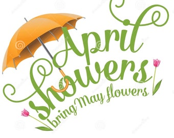 """Monthly accessories  club  """"April showers"""""""