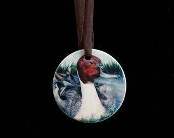 Ceramic Ornament - Pintail Duck