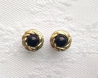 "Black Gold Vintage Wedding Pair Plugs Gauges Size: 0g (8mm), 00g (10mm), 1/2"" (12mm)"