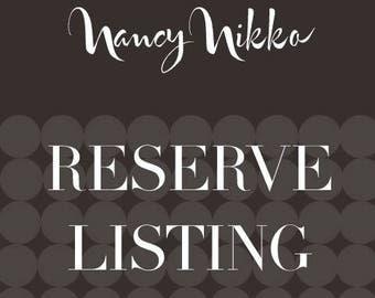 Reserve listing for Stephanie
