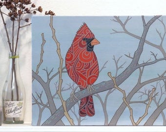 The Cardinal - Original Painting