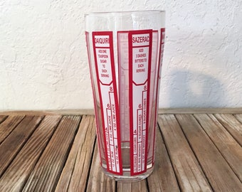 Mid Century Red and White Cocktail Shaker