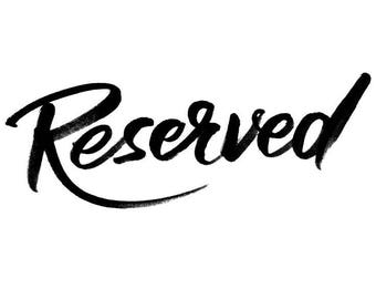 NEW - Reserved Order for Chignonbeauty