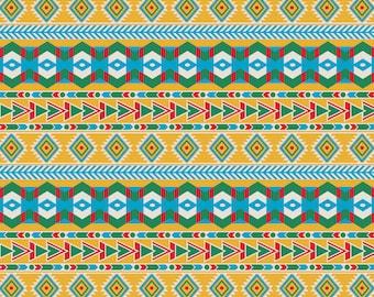 Santa Fe Patterned Vinyl Vibrant Vinyl™ - Adhesive Vinyl, Heat Transfer Vinyl, Pattern Vinyl, Pattern HTV