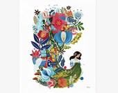 PRE-ORDER - Folknit 8x10 giclée art print