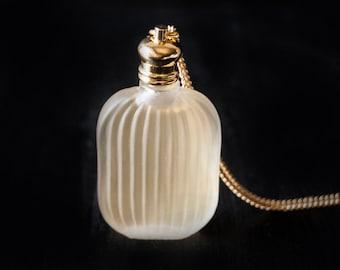 Perfume Bottle Necklace - Victorian Potion Amulet - Choose your scent - 9ml