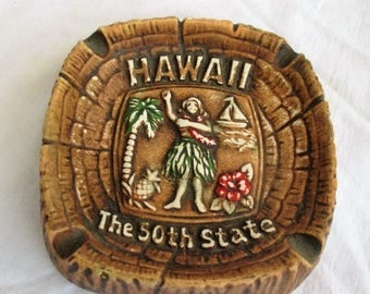 SALE 20% OFF Vintage Hawaii Ashtray Souvenir