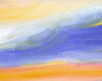 Abstract art print, landscape art, Modern Art Print, Contemporary Art Print, Square Art