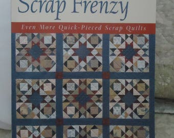 "Quilt Pattern Book.... ""Scrap Frenzy"""
