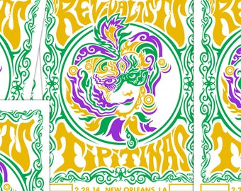 THE REVIVALISTS 12.5x19 TIPITINAS mini signed proof