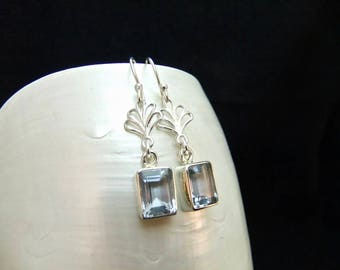 Alexandrite Gemstone Sterling Silver Earrings
