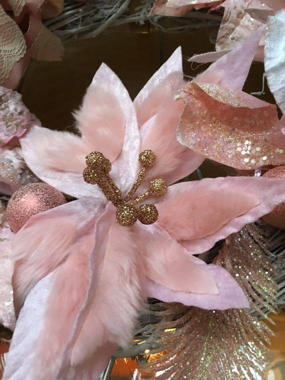 ELEGANT PINK CHRISTMAS Wreath