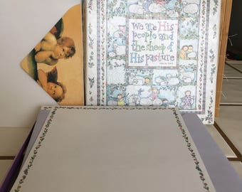 """Vintage 90's """"RElIGIOUS STATIONERY"""" Two different designs"""