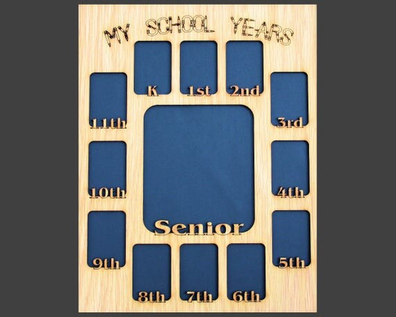 11x14 My School Years Picture Mat Insert For A Picture Frame