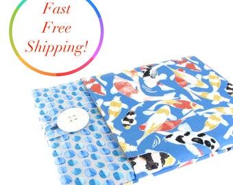 Kindle Case, Kindle Paperwhite Case, Kindle Paperwhite Cover, Kindle Cover, Kindle Voyage Case, Paperwhite Sleeve, Kindle Oasis, Koi