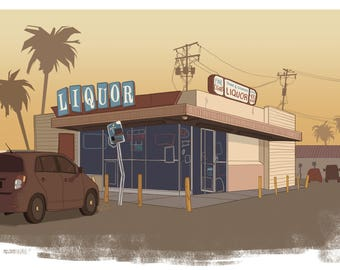 Daytime Liquor Store
