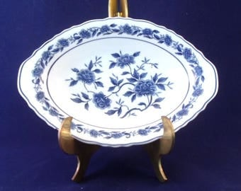 Blue Chatham By Symco, Small Oval Vegetable Bowl