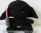 Star Wars Darth Vader Inspired Fathead Doll - Plushie - Baby Darth Vader
