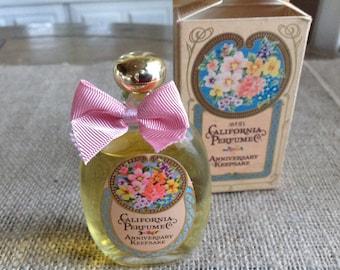 Avon California Perfume Co Charisma Colonge Aniversary Keepsake Bottole and Original Box 1.7 Fluid Oz.