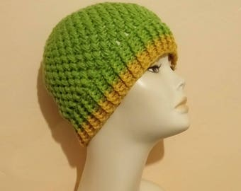 Crochet Puff Stitch Hat, Crocheted Beanie Hat, Beanie Hat, Textured Hat, Skullcap Beanie, Crochet Puff Hat, FREE UK DELIVERY