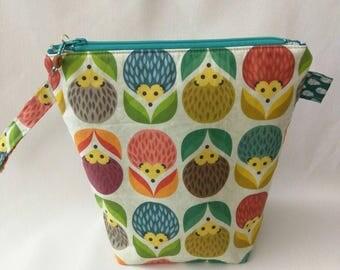 Sock Skinny with Fleece Padding - Hedgie Flowers