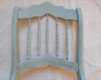 Antique Primitive Chair Back