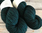 Journey Worsted in Electric Boots (Dark) by Skeinny Dipping Yarn